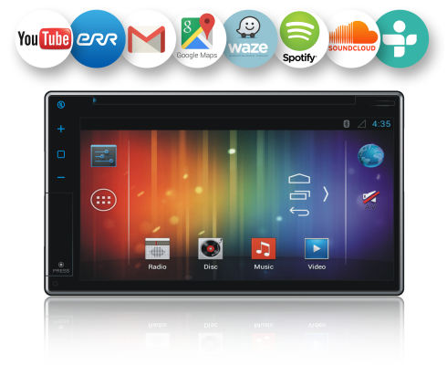 Android 2-DIN AN6Q24